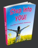 Step into YOU! Free eGuide by Angela Barnard
