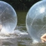 Playing the Ball - Water Zorbing