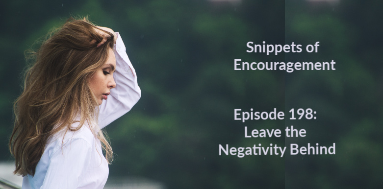 Leave the Negativity Behind