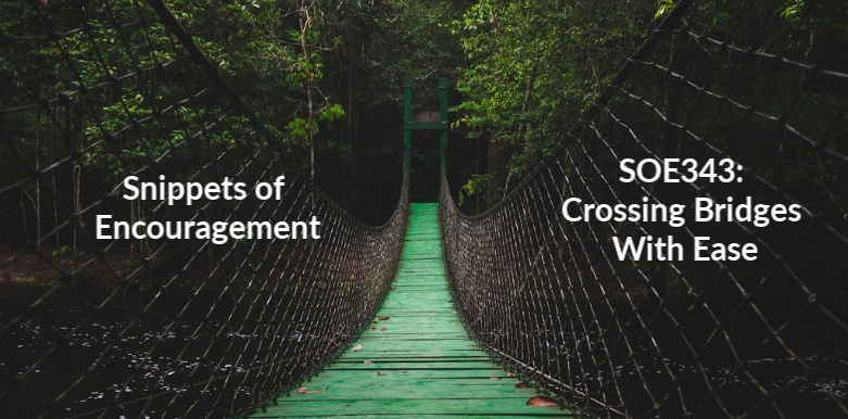 crossing Bridges With Ease